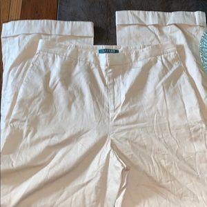 "Lauren Ralph Lauren cotton thin pants size 10X 29"""